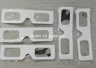 Cina White Paper Eclipse Solar Filter Glasses , High Safe Solar Sun Viewing Glasses pemasok