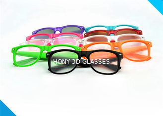 Cina  Style Prism Rave Parties Diffraction Glasses , 3d Firework Glasses pemasok