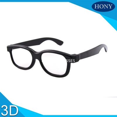 Cina Passive 3D Circular Polarized Glasses For Movies With ABS Materilas Distributor