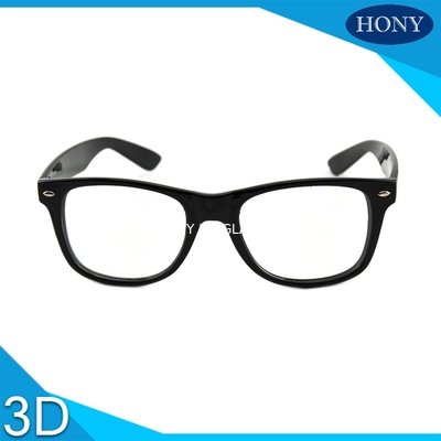 Cina Cinema White Circular Polarized 3D Glasses foldable arms WITH Anti UV Distributor