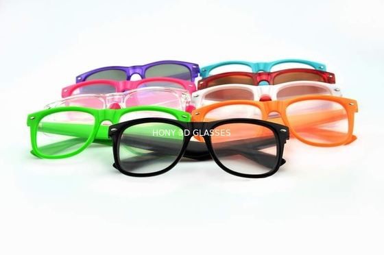 Cina Colorful Frame Plastic Diffraction Glasses For Fireworks From Hony Distributor