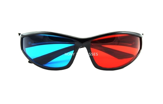 Cina Eco-Friendly ABS Plastic Red Cyan 3D Glasses Polarized Watching 3d Movie Distributor