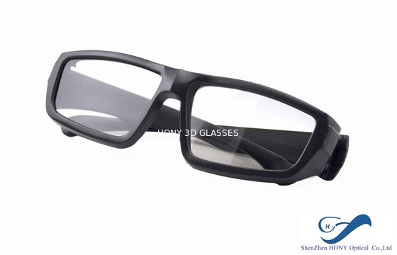 Cina Cheap Plastic Reald 3D Polarized Glasses With Black Color For Cinema Using Distributor