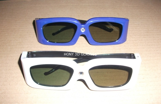 Cina Green Blue Stereoscopic Universal Active Shutter 3D Glasses Compatible Link Distributor