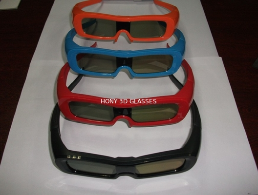 Cina Colorful Universal Active Shutter 3D Glasses For TV Water Proof Distributor
