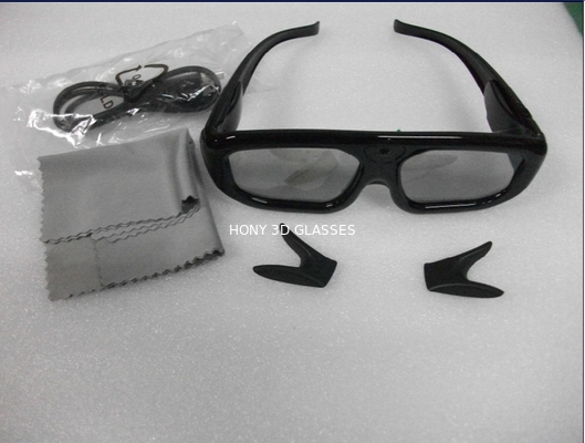 Cina Infrared Panasonic Active Shutter 3D TV Glasses Lithium Battery Powered Distributor